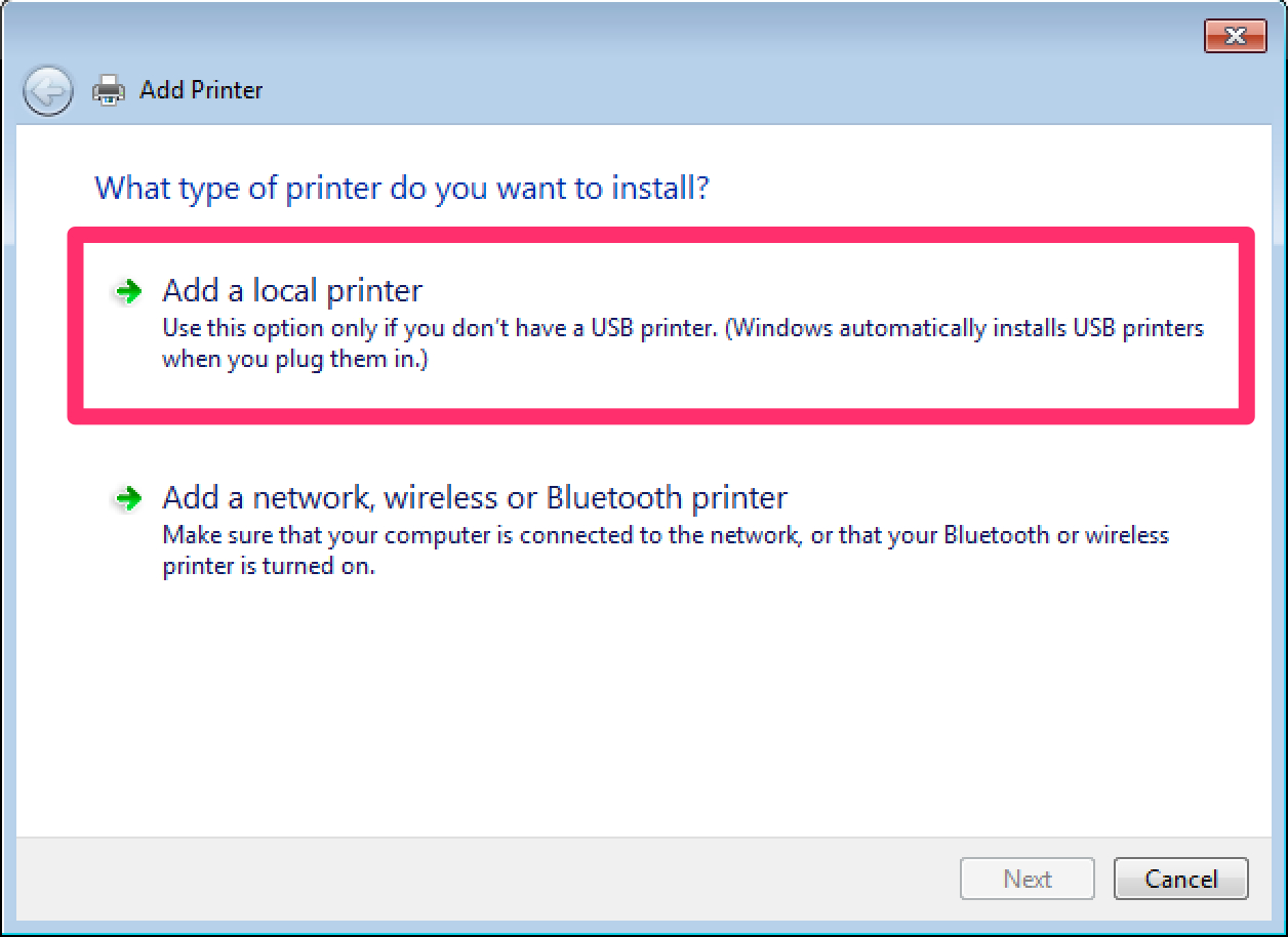 Printer setup instructions - Zebra GX430t - Windows PC